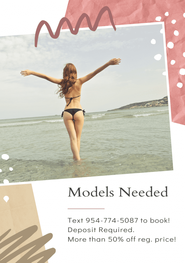 Models Needed: Scar, Stretch Mark and Under Eye Camouflage