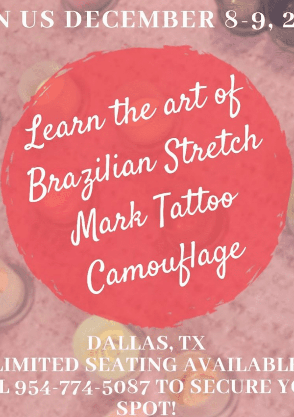 Alicia Shapira takes Texas: Brazilian Stretch Mark Tattoo Class
