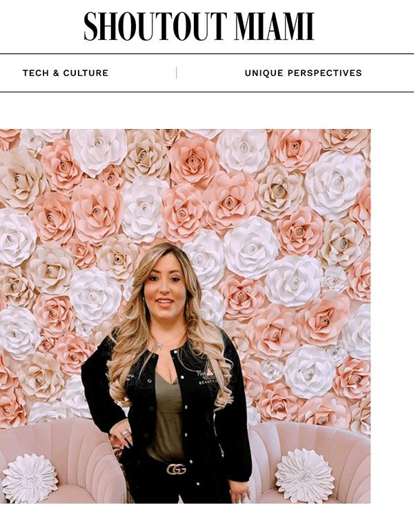 Alicia Shapira Featured on Shoutout Miami