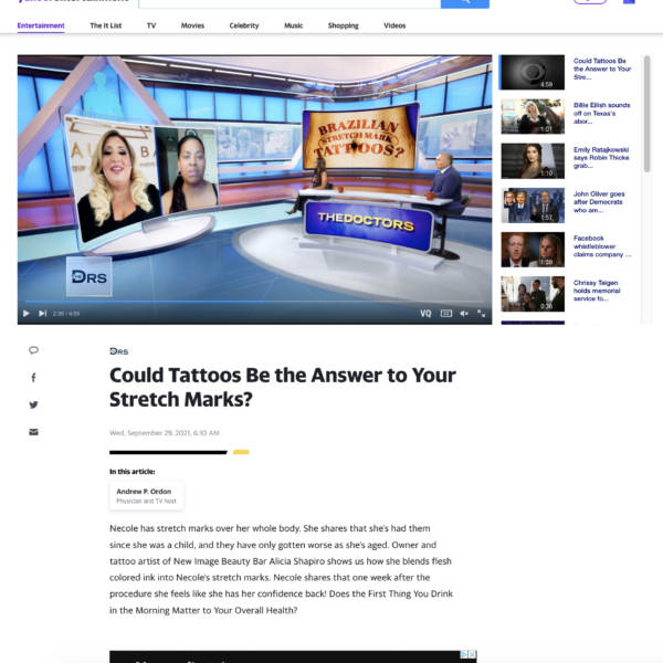 Yahoo Entertainment News - New Image Beauty Bar